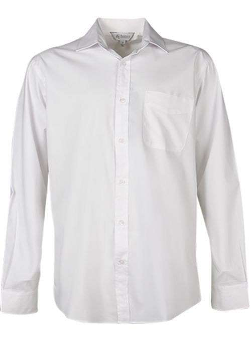 Kingswood Long Sleeve to 7XL white