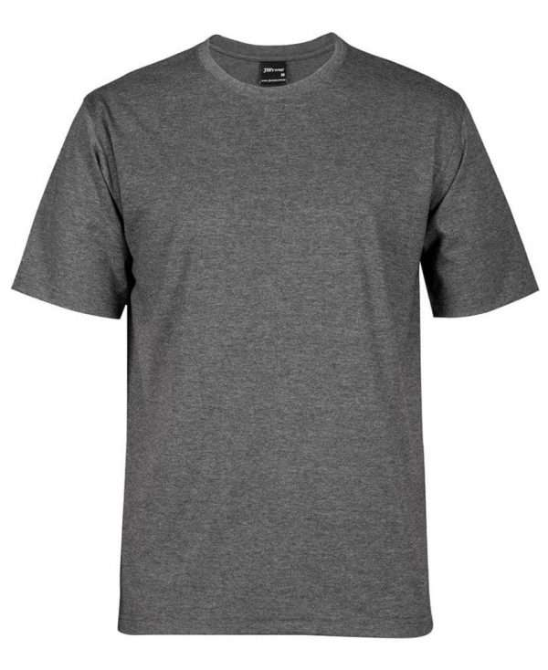 Round Neck T Shirts CHARCOAL MARLE