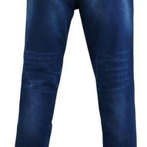 Distressed Denim Jeans -back