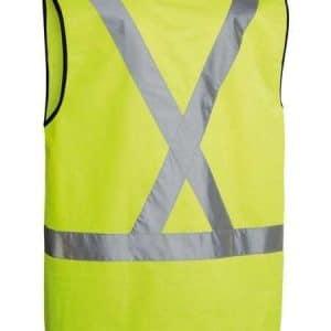 HiViz X Reflective Vest -back