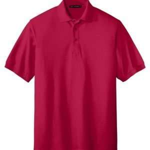Tall Silk Touch Polo - RED