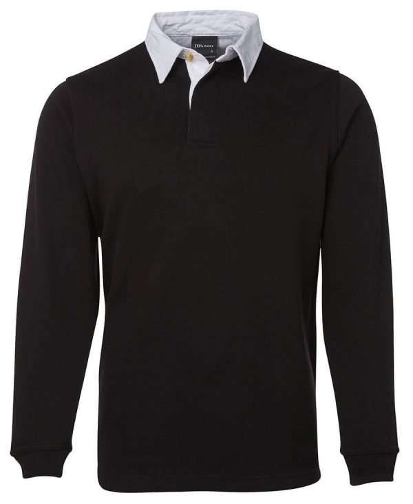 Iconic Rugby Shirt - Black/White