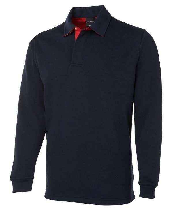 Iconic Rugby Shirt - Navy/Red