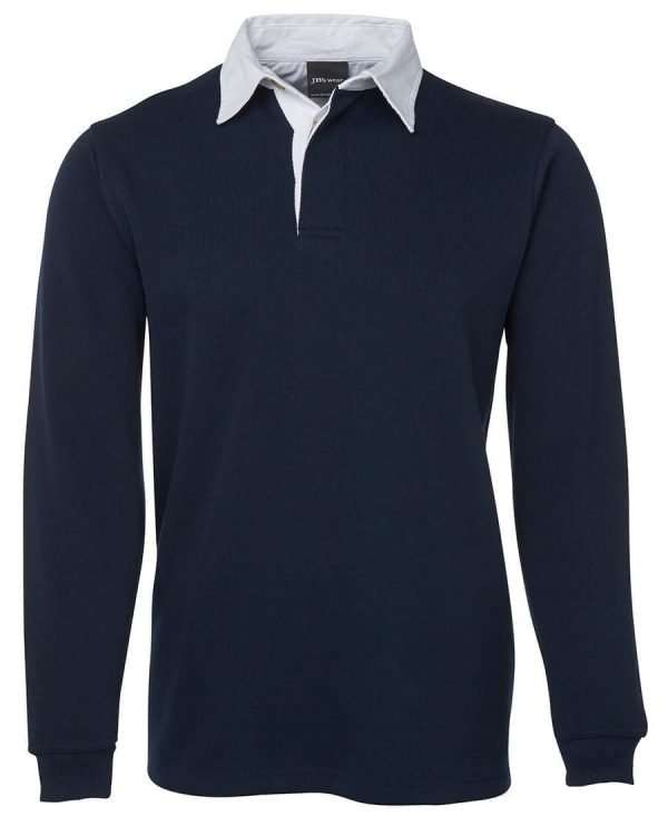 Iconic Rugby Shirt - Navy/White