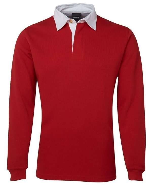 Iconic Rugby Shirt - Red/White